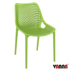 Vanna Spring Side Chair - Tropical Green